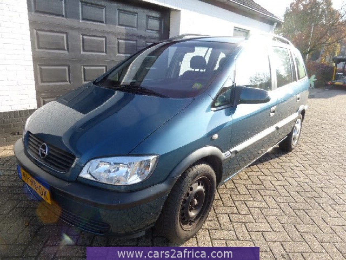 opel zafira 1 8 63919 used available from stock. Black Bedroom Furniture Sets. Home Design Ideas