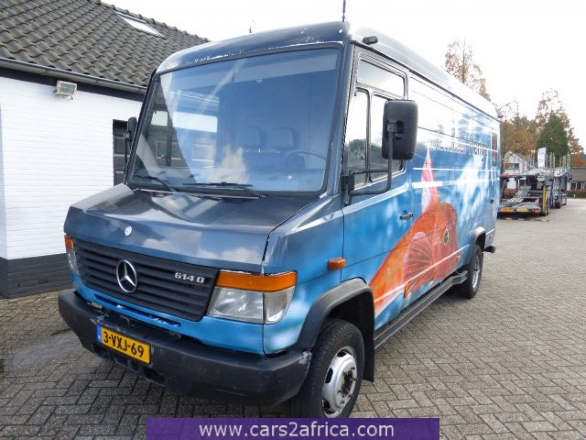 Mercedes benz vario 614 d 63926 used available from stock for Mercedes benz used trucks
