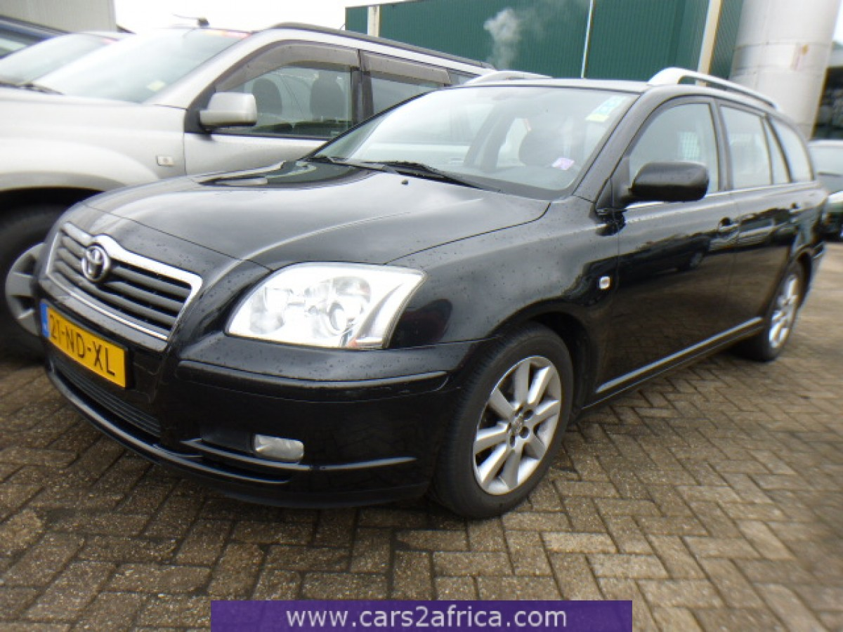 toyota avensis 1 8 64393 used available from stock. Black Bedroom Furniture Sets. Home Design Ideas
