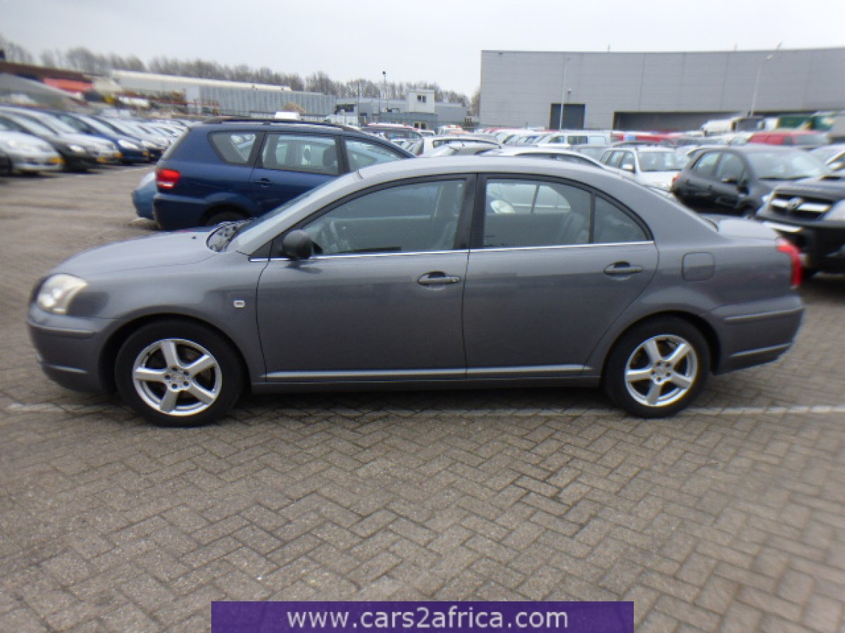 toyota avensis 2 0 d 4d 64437 used available from stock. Black Bedroom Furniture Sets. Home Design Ideas