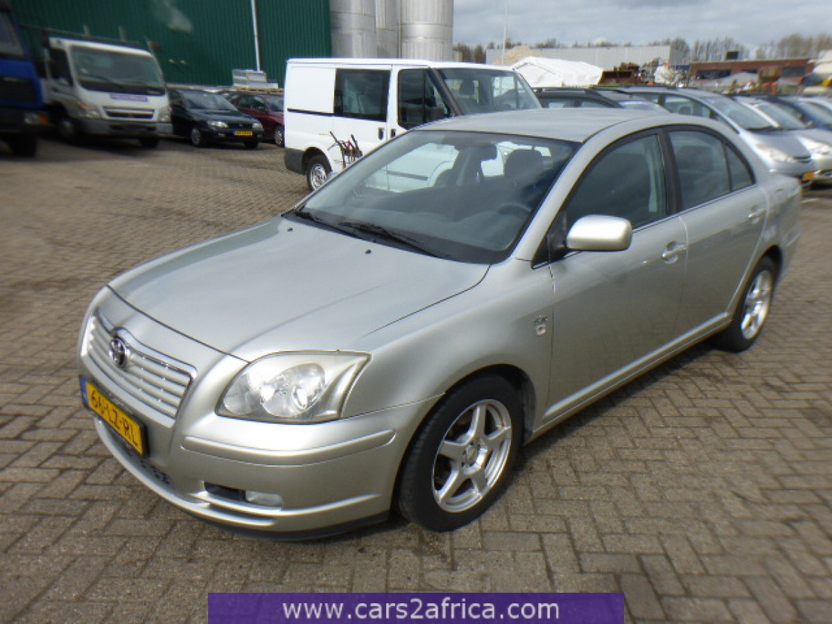 toyota avensis 2 0 d 4d 64531 used available from stock. Black Bedroom Furniture Sets. Home Design Ideas