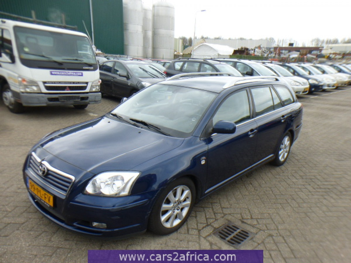 toyota avensis 2 0 d 4d 64570 used available from stock. Black Bedroom Furniture Sets. Home Design Ideas