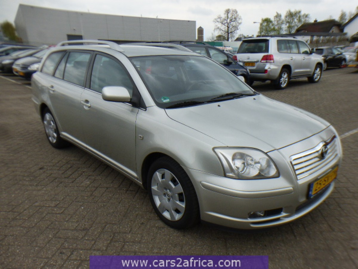 toyota avensis 2 0 d 4d 64560 used available from stock. Black Bedroom Furniture Sets. Home Design Ideas