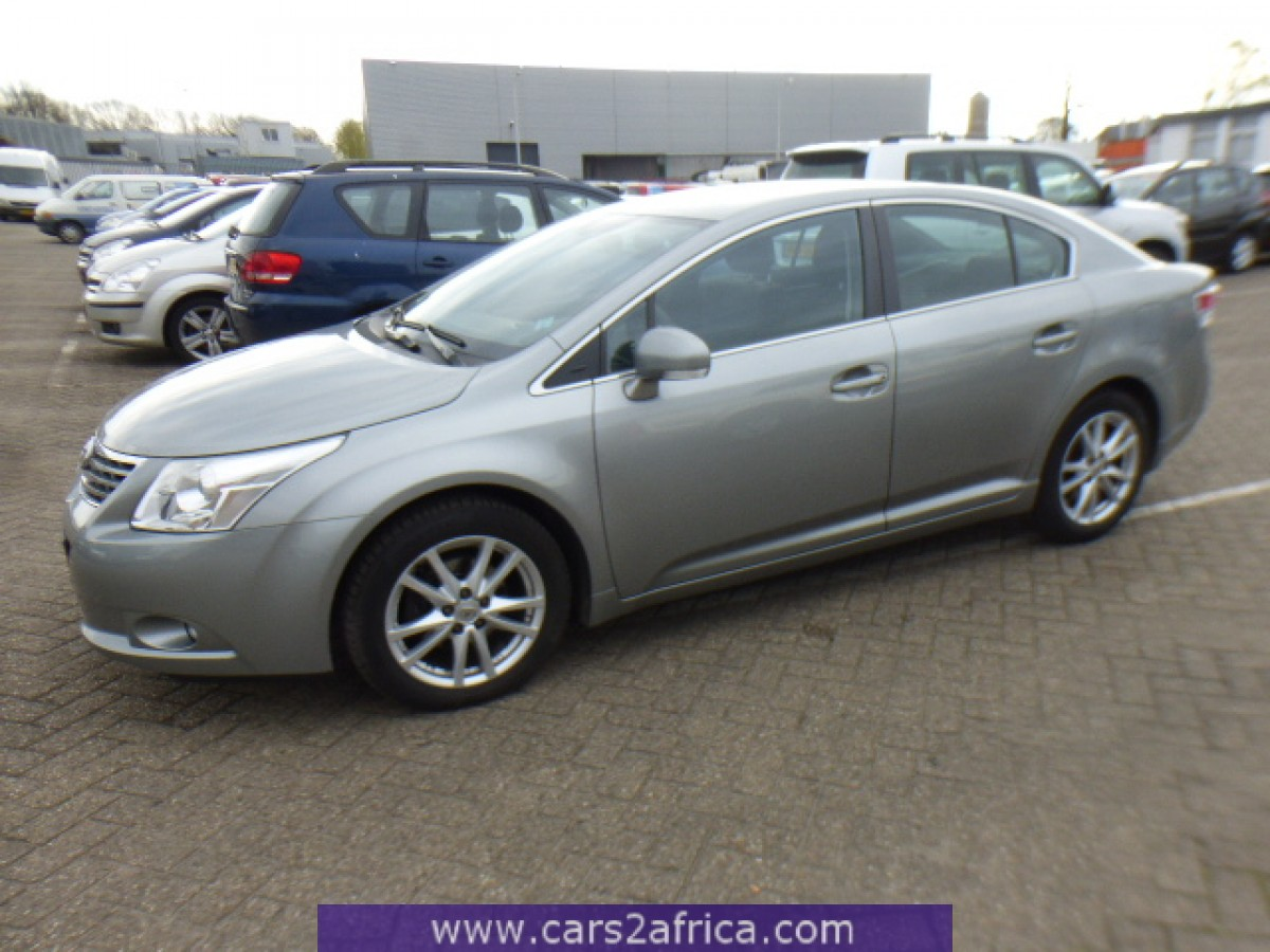 toyota avensis 2 0 d 4d 64554 used available from stock. Black Bedroom Furniture Sets. Home Design Ideas