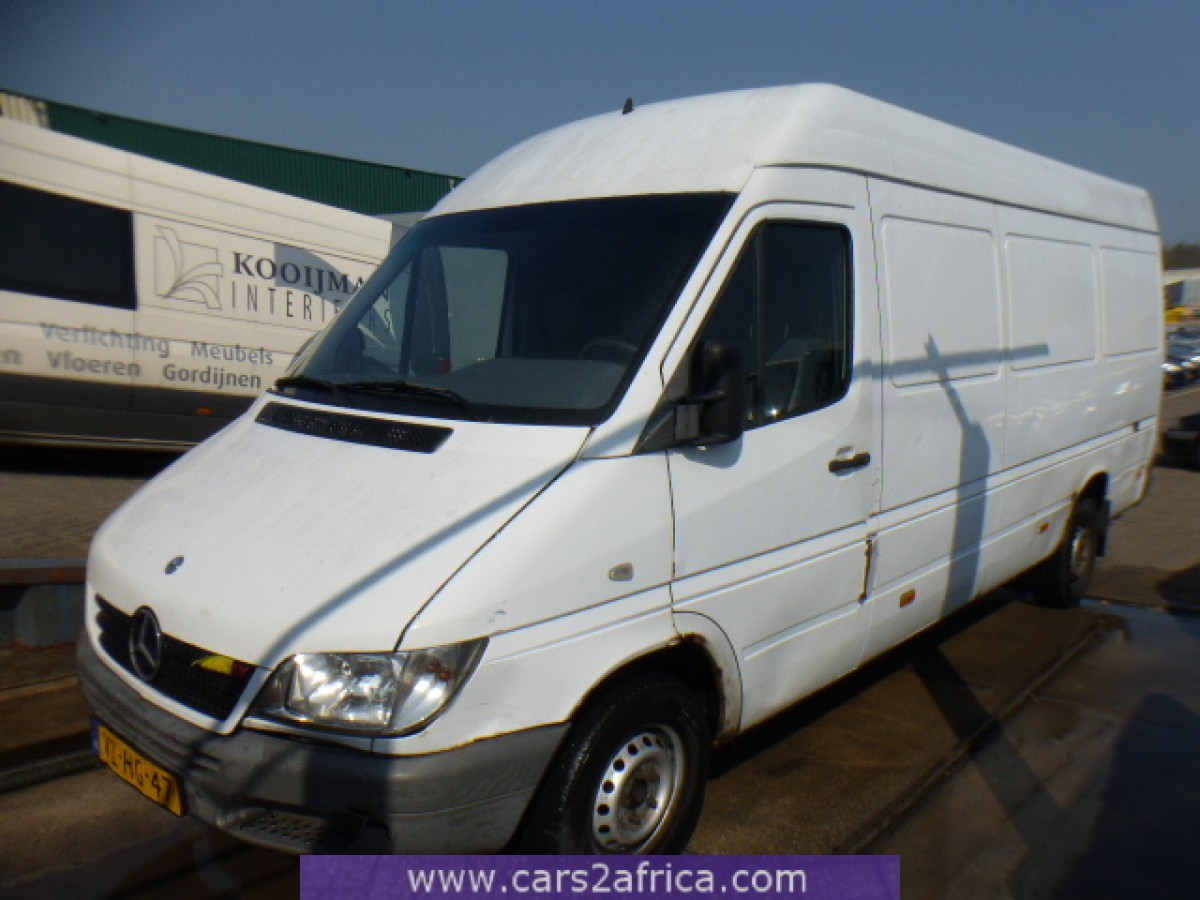 Mercedes benz sprinter 312 d 64525 used available from for Used mercedes benz sprinter