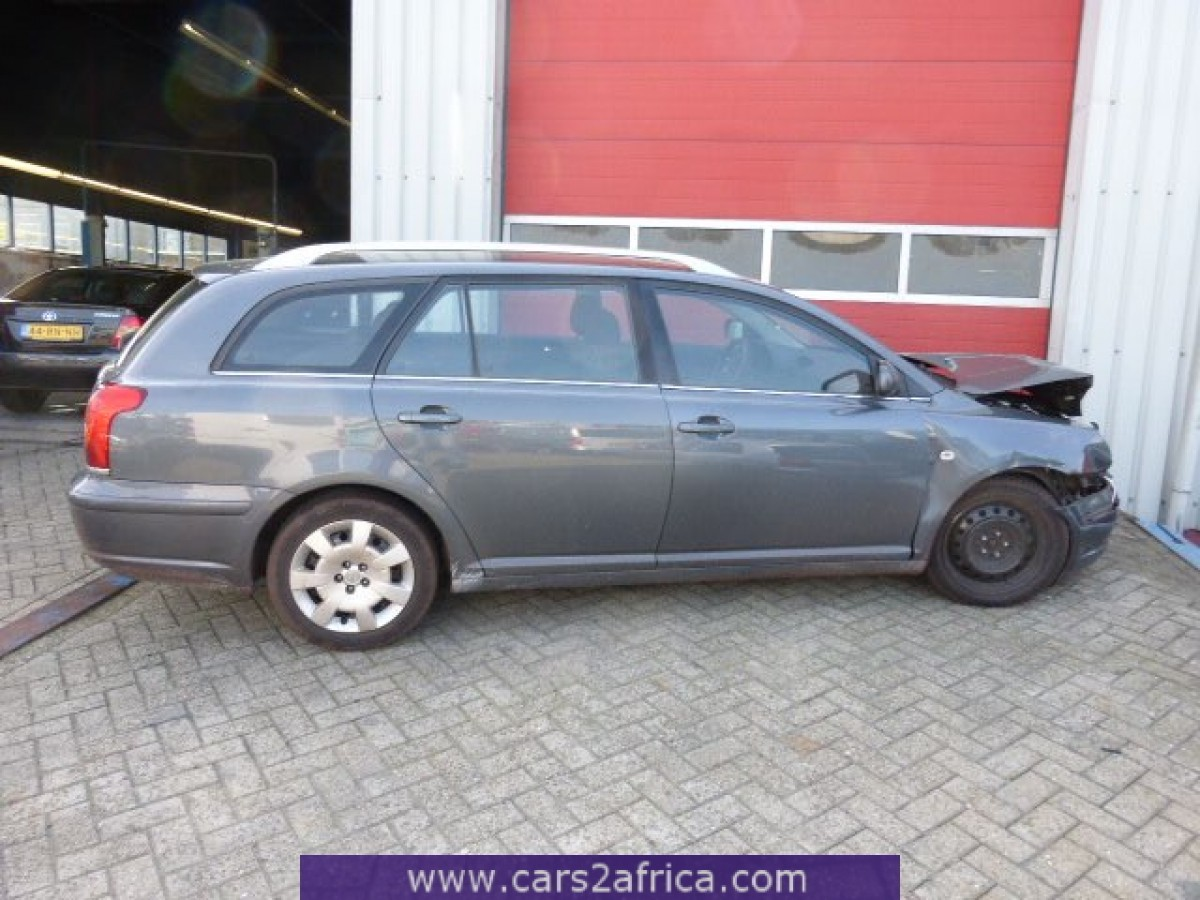 toyota avensis 2 0 d 4d 63158 used available from stock. Black Bedroom Furniture Sets. Home Design Ideas