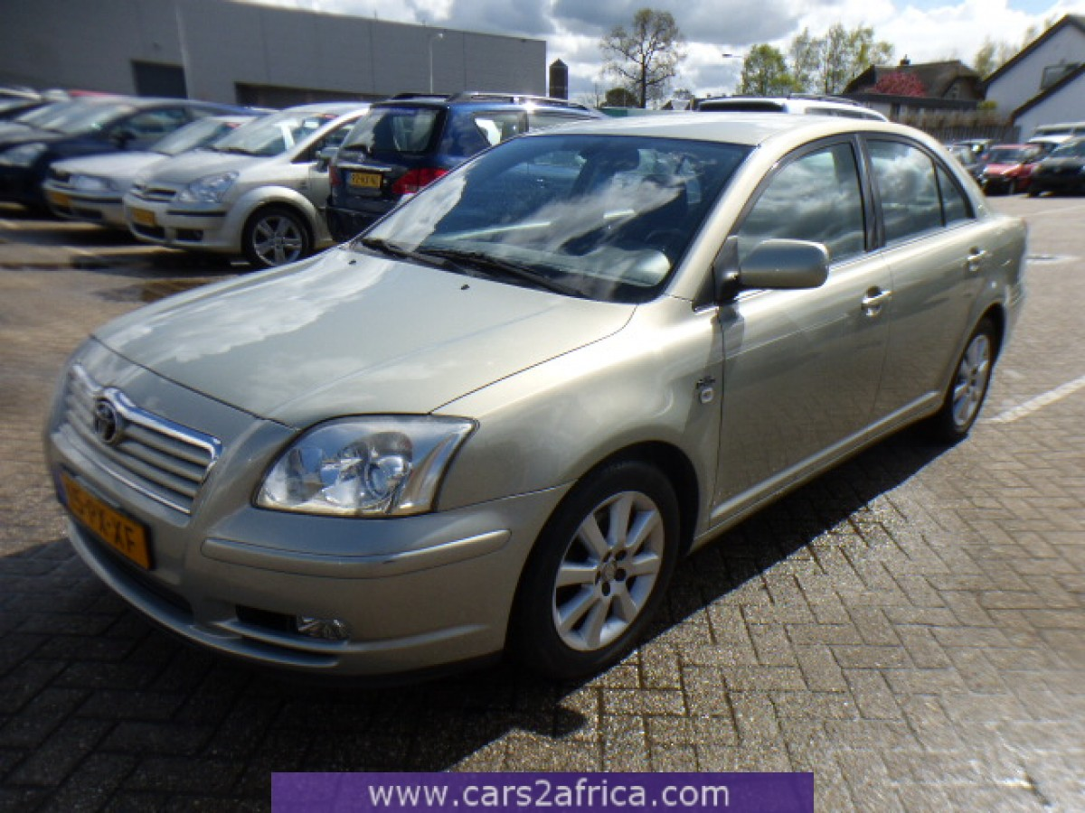 toyota avensis 2 0 d 4d 64618 used available from stock. Black Bedroom Furniture Sets. Home Design Ideas
