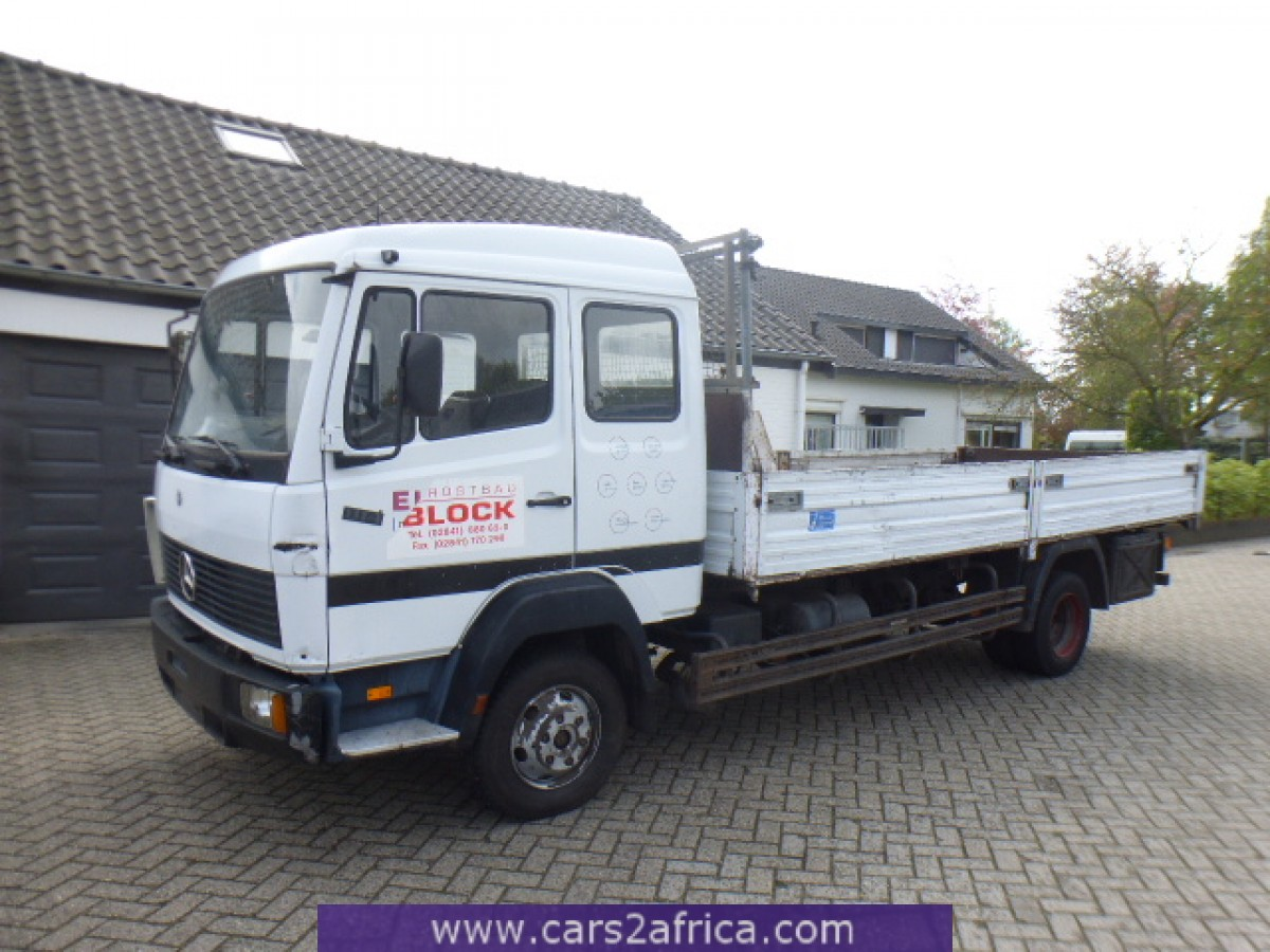 Mercedes benz ecoliner 814 64718 used available from stock for Mercedes benz used trucks