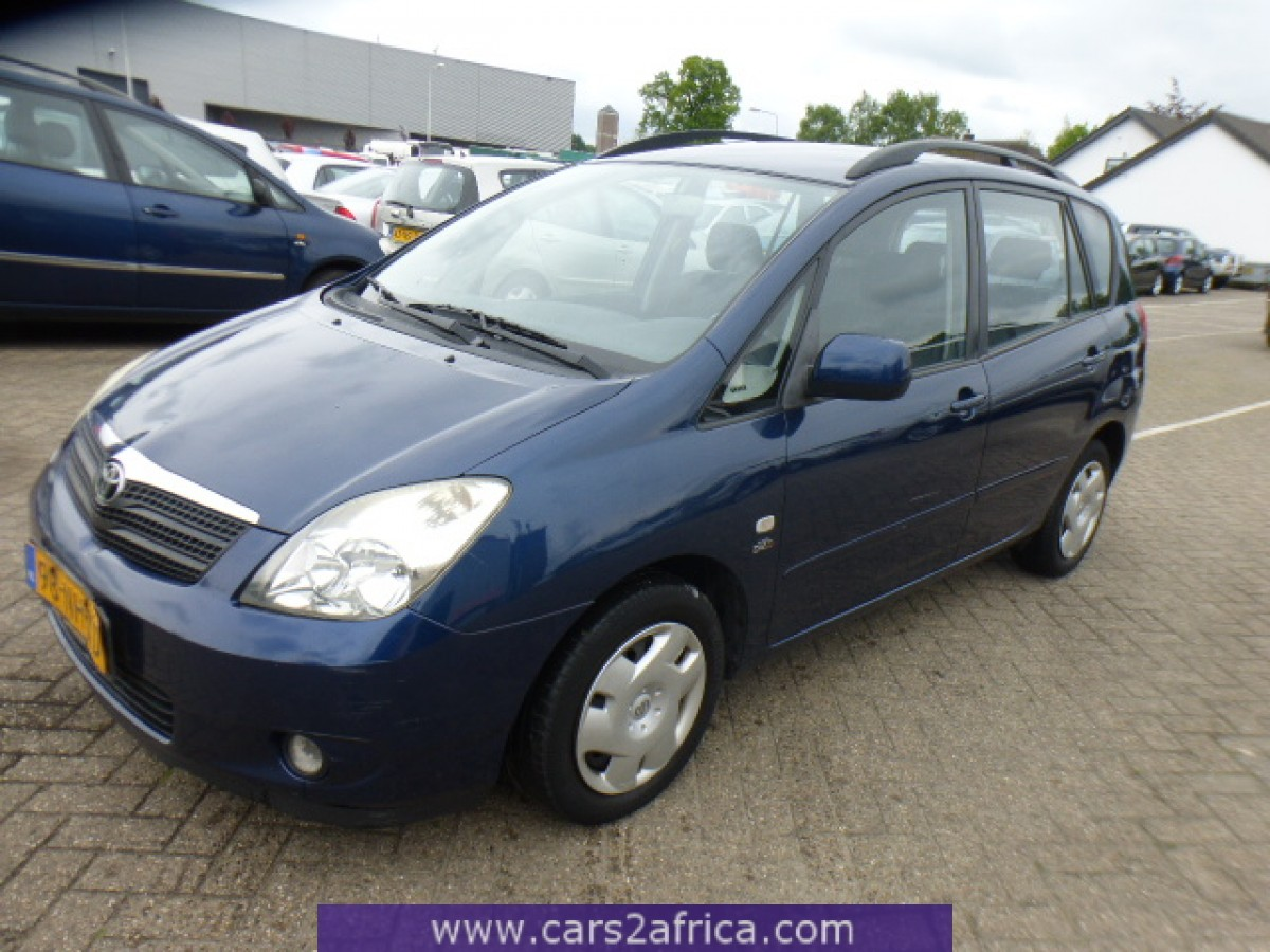 Toyota Verso Nieuw Model >> TOYOTA Corolla Verso 2.0 D-4D - cars2africa