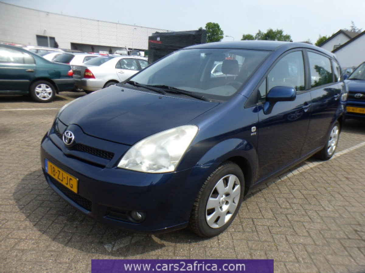 toyota corolla verso 1 8 64763 used available from stock. Black Bedroom Furniture Sets. Home Design Ideas