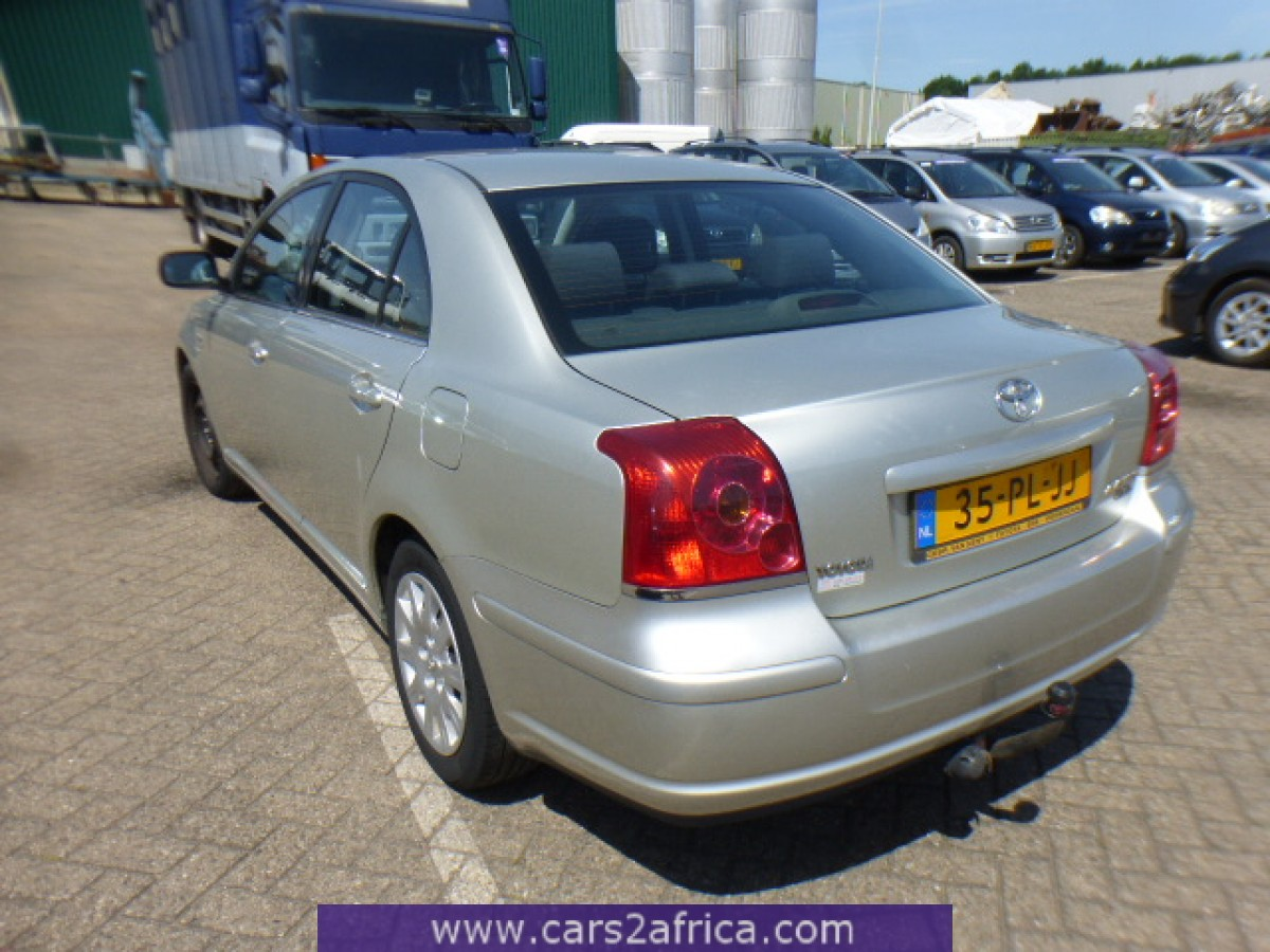 toyota avensis 2 0 d 4d 64782 used available from stock. Black Bedroom Furniture Sets. Home Design Ideas