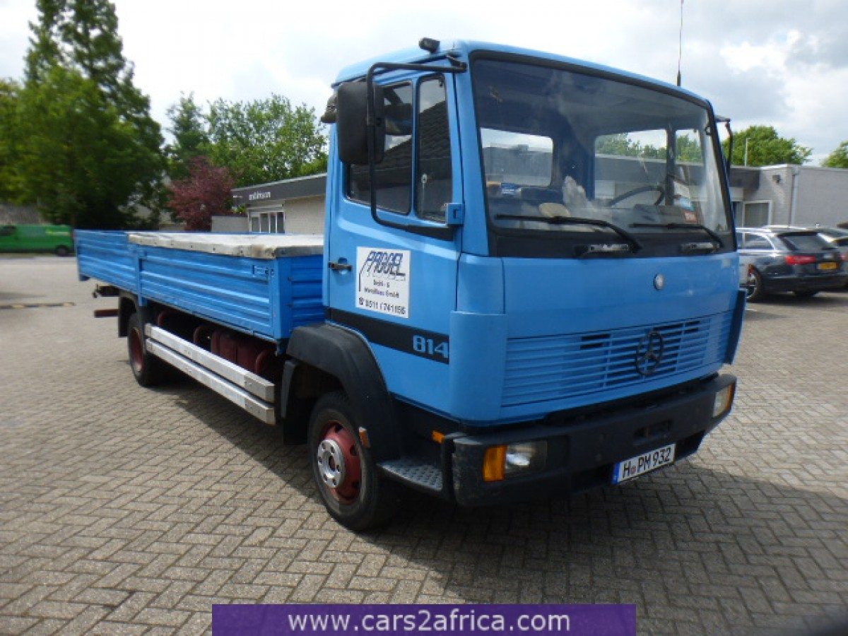 Mercedes benz ecoliner 814 64784 used available from stock for Mercedes benz used trucks