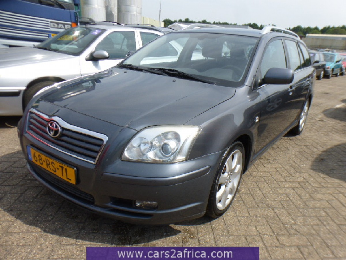 toyota avensis 2 4 64866 used available from stock. Black Bedroom Furniture Sets. Home Design Ideas