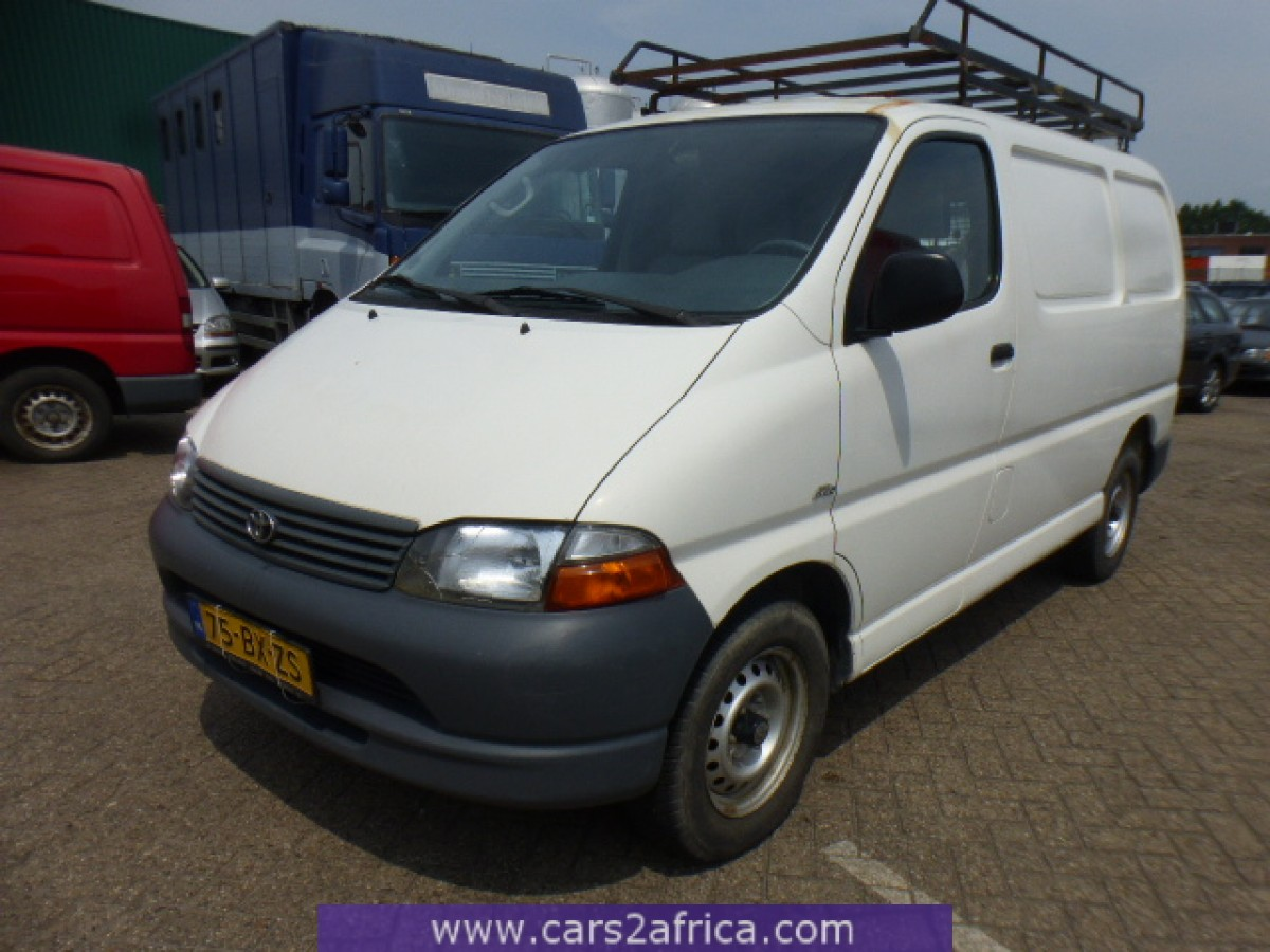 toyota hi ace 2 5 d 4d 64868 used available from stock. Black Bedroom Furniture Sets. Home Design Ideas
