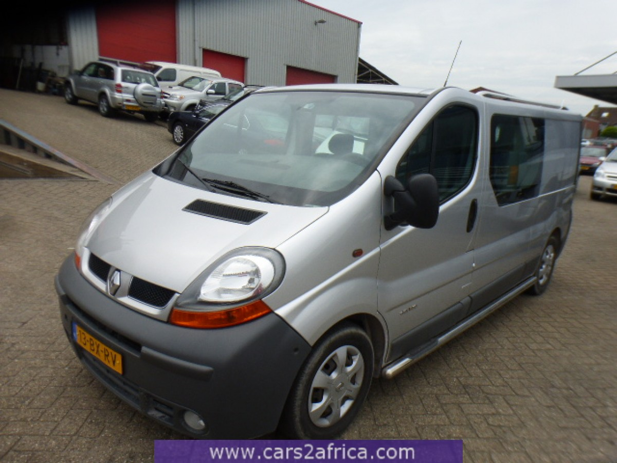 Renault Trafic 2 5 Dci 64865 Used Available From Stock