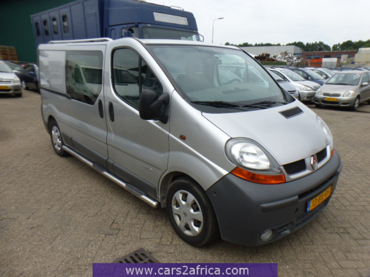 Used Diesel Trucks >> RENAULT Trafic 2.5 DCi #64865 - used, available from stock