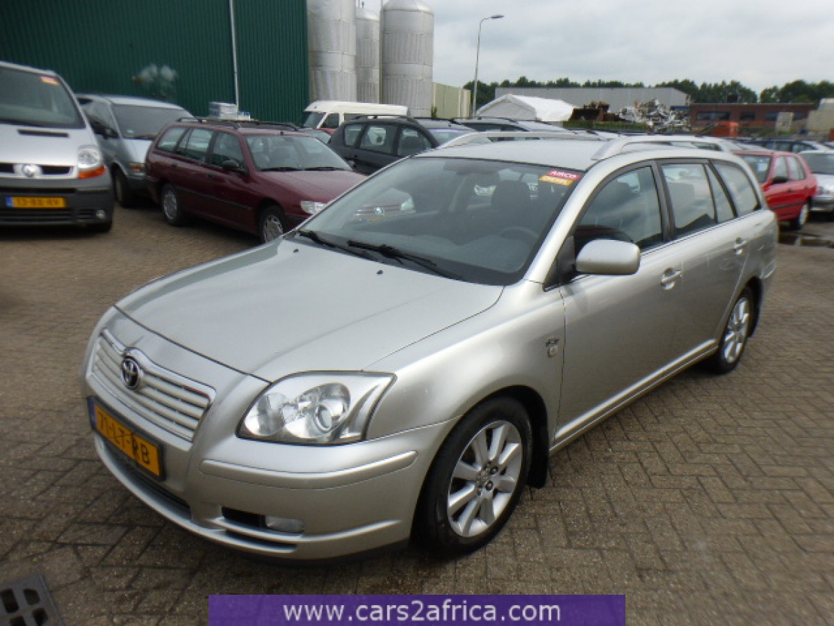toyota avensis 2 0 d 4d 64925 used available from stock. Black Bedroom Furniture Sets. Home Design Ideas