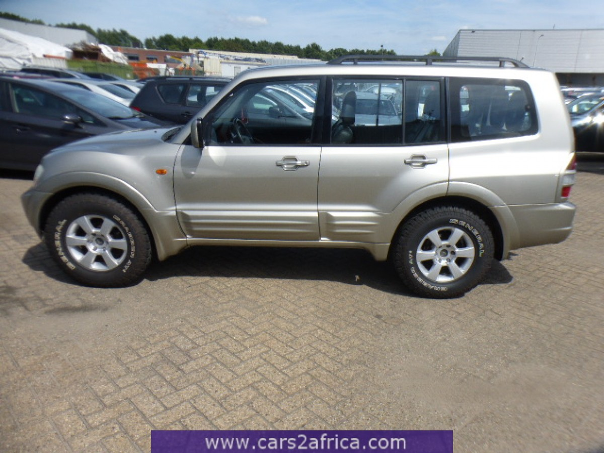 mitsubishi pajero 3 2 did 65094 used available from stock. Black Bedroom Furniture Sets. Home Design Ideas