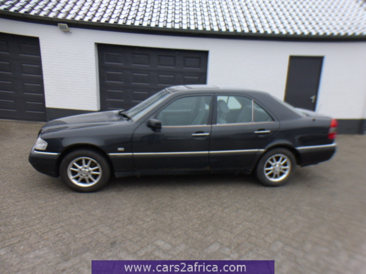 Mercedes benz c 180 1 8 64295 used available from stock for Mercedes benz stock