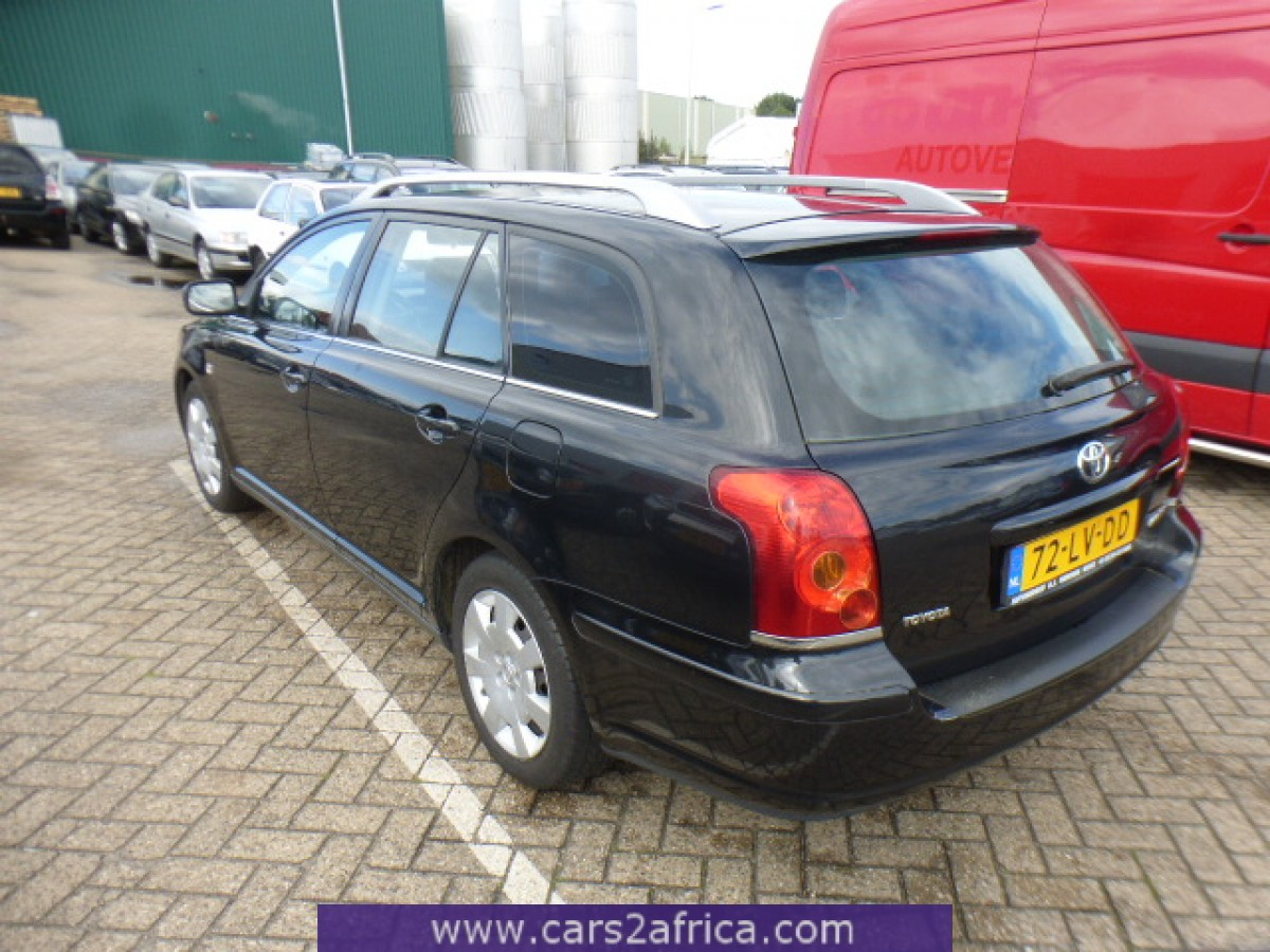 toyota avensis 1 8 65256 used available from stock. Black Bedroom Furniture Sets. Home Design Ideas
