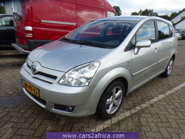 toyota corolla verso 1 6 65254 used available from stock. Black Bedroom Furniture Sets. Home Design Ideas