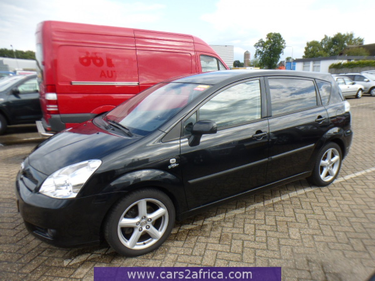 toyota corolla verso 2 2 d 4d 65248 used available from stock. Black Bedroom Furniture Sets. Home Design Ideas