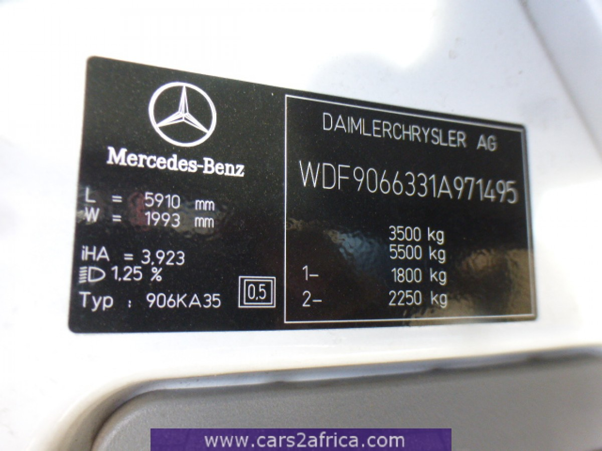 Mercedes Benz Of Alexandria >> MERCEDES-BENZ Sprinter 315 CDI #65337 - used, available ...