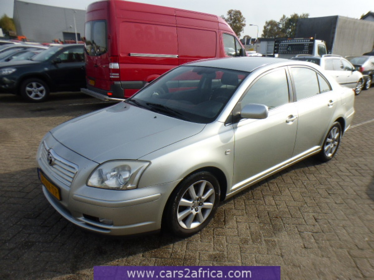toyota avensis 1 8 65407 used available from stock. Black Bedroom Furniture Sets. Home Design Ideas