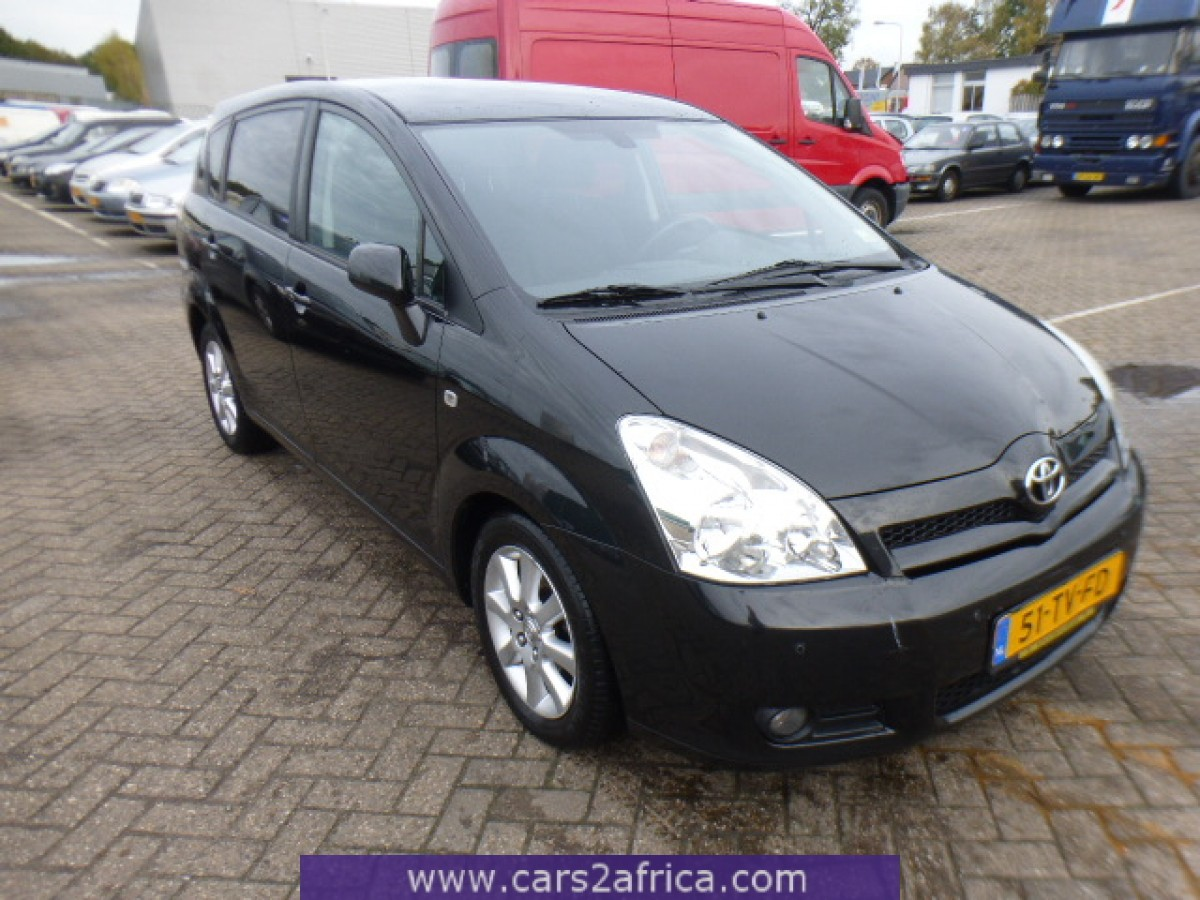 toyota corolla verso 2 2 d 4d 65447 used available from stock. Black Bedroom Furniture Sets. Home Design Ideas