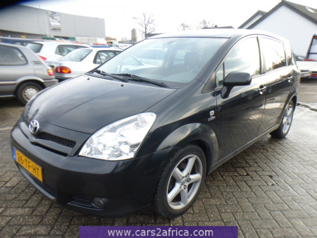 toyota corolla verso 2 2 d cat 65599 used available from stock. Black Bedroom Furniture Sets. Home Design Ideas