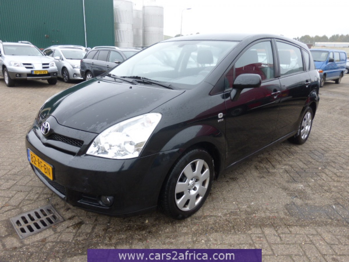 toyota corolla verso 1 8 65522 used available from stock. Black Bedroom Furniture Sets. Home Design Ideas