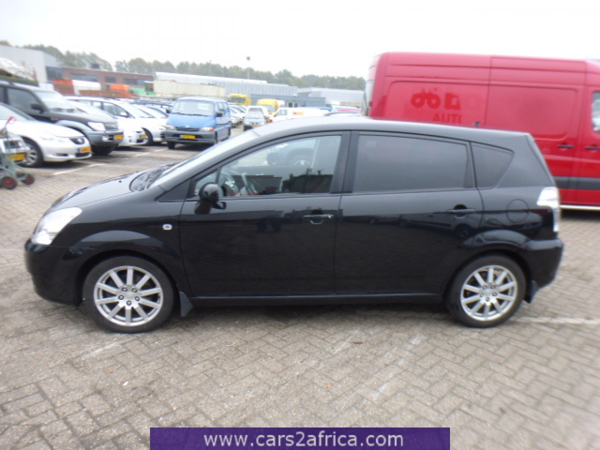 toyota corolla verso 2 2 d 4d 65519 used available from stock. Black Bedroom Furniture Sets. Home Design Ideas
