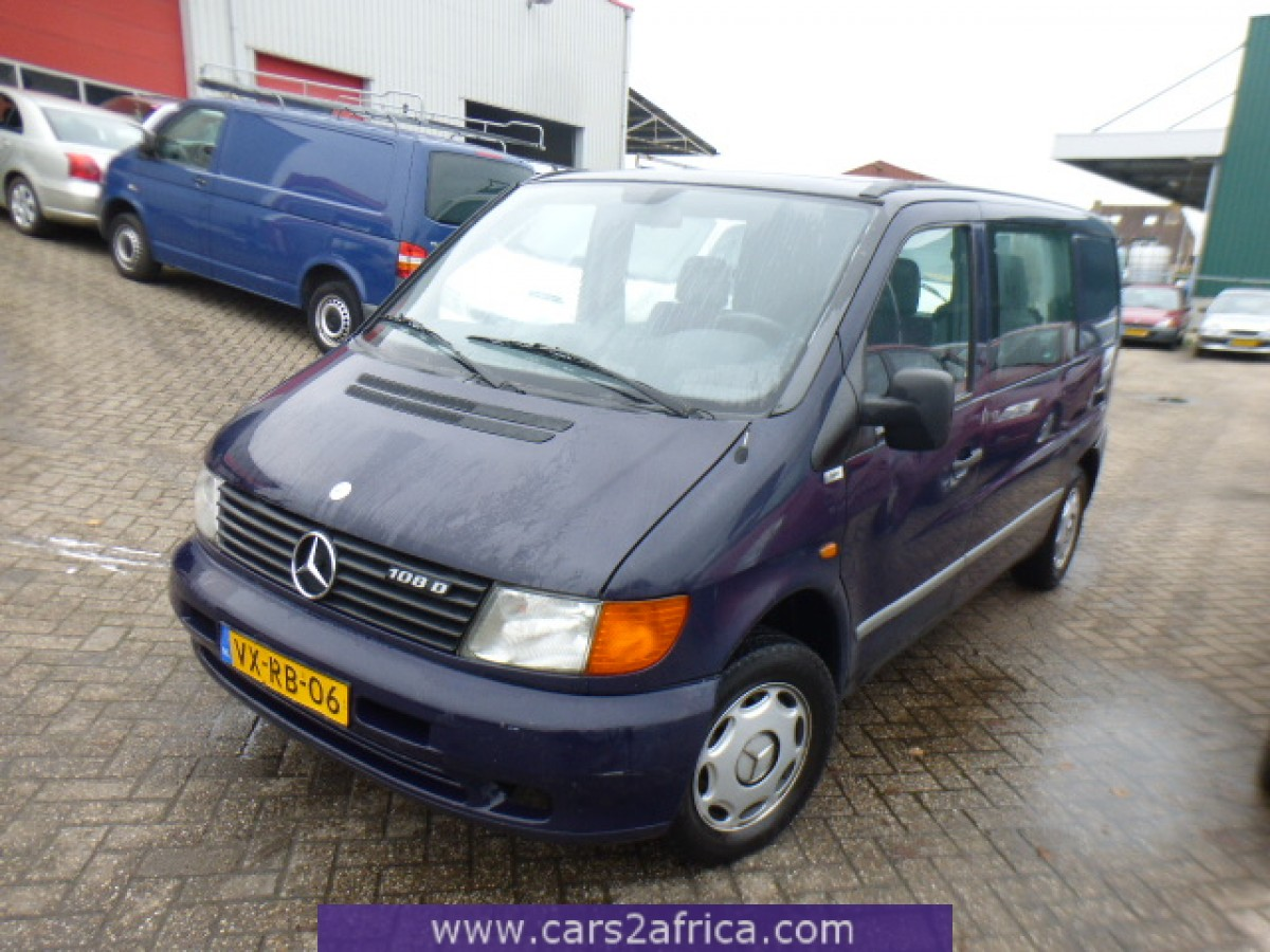 Mercedes benz vito 108 d 65672 used available from stock for Mercedes benz 108