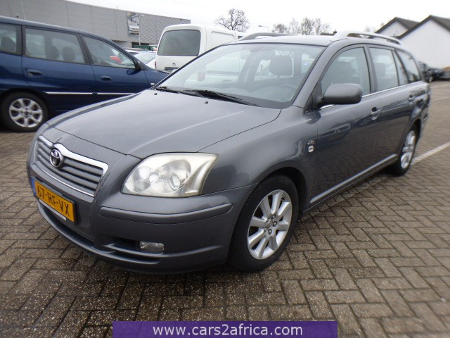 toyota avensis 2 0 d 4d 65834 used available from stock. Black Bedroom Furniture Sets. Home Design Ideas