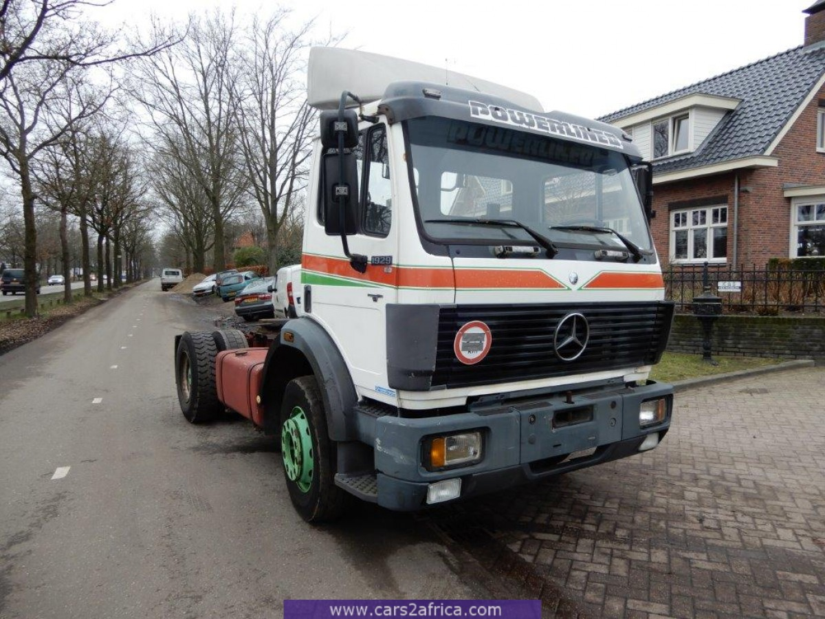 Mercedes Benz 1929 Ls V8 4x2 Trekker 65859 Used Available From Stock