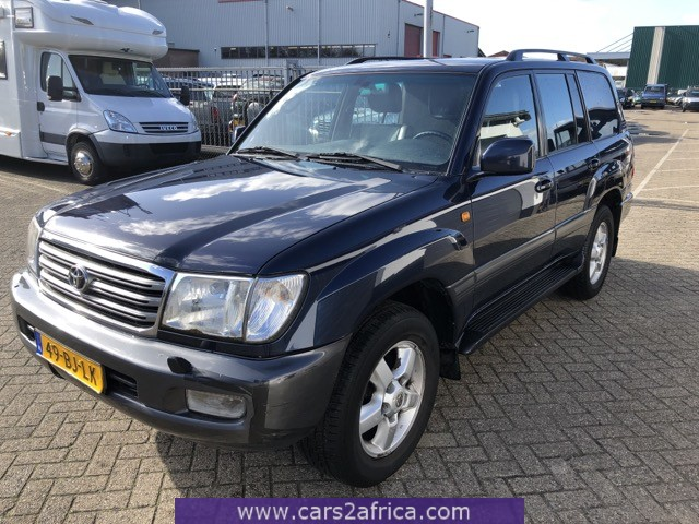 TOYOTA Landcruiser 100 4.2 TD #66167 - used, available from stock