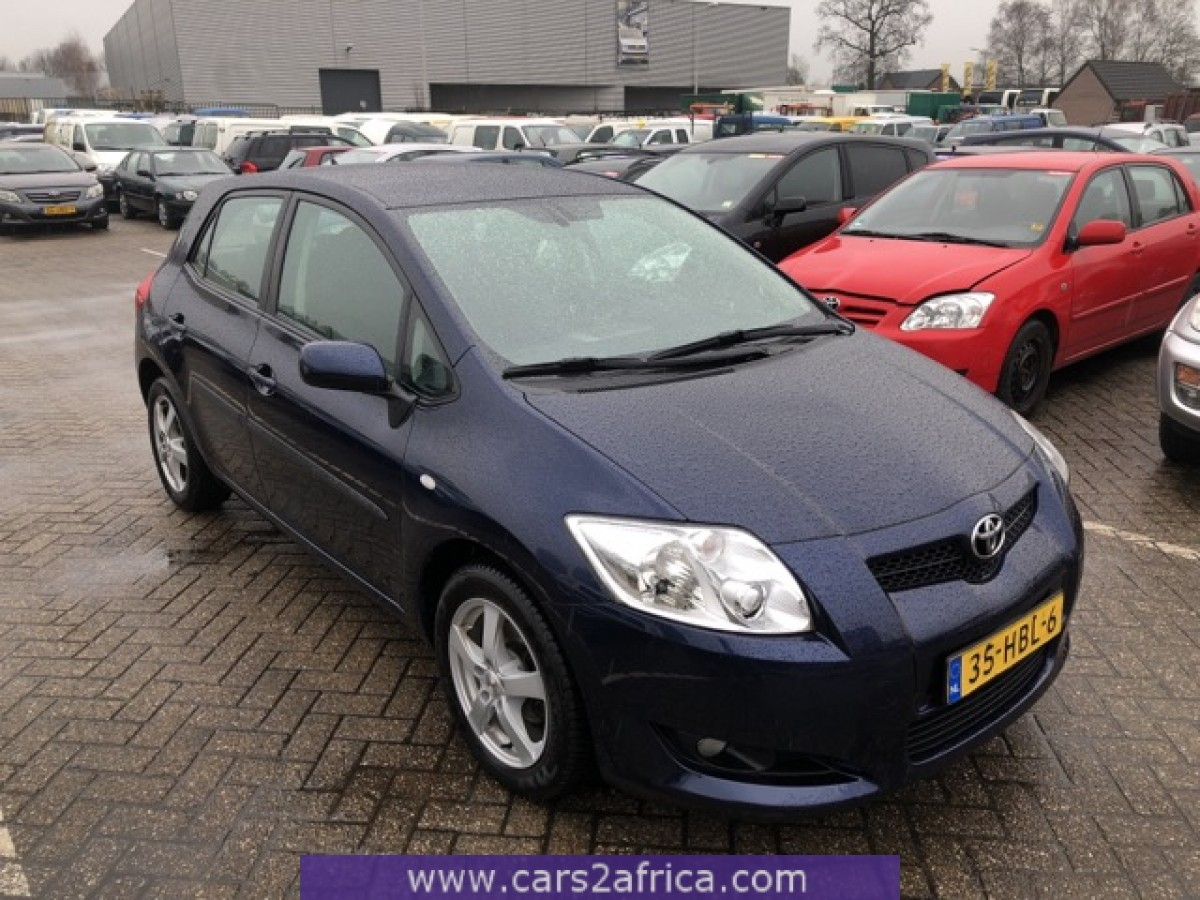 toyota auris 1 6 66118 used available from stock. Black Bedroom Furniture Sets. Home Design Ideas