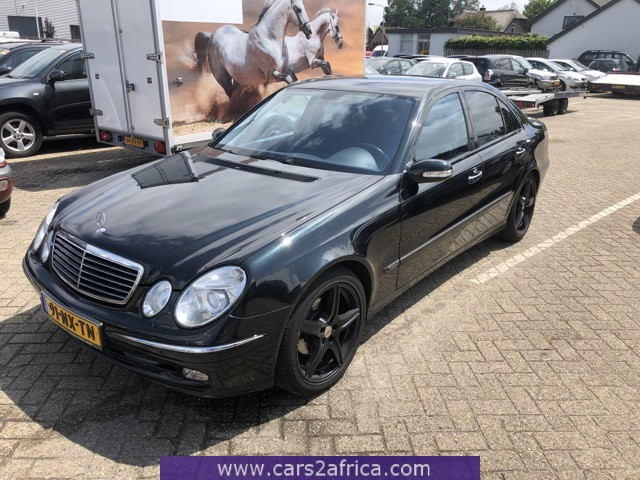 mercedes-benz e 220 cdi #66436 - used, available from stock