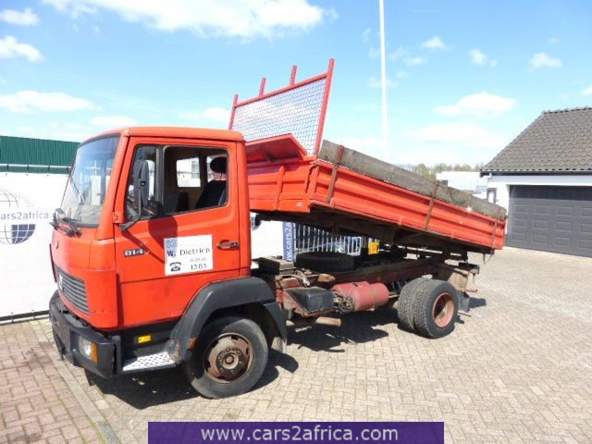 Mercedes benz ecoliner 814 61423 used available from stock for Mercedes benz used trucks